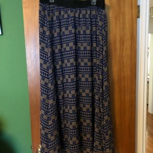 LuLaRoe Lucy Skirt - 2XL